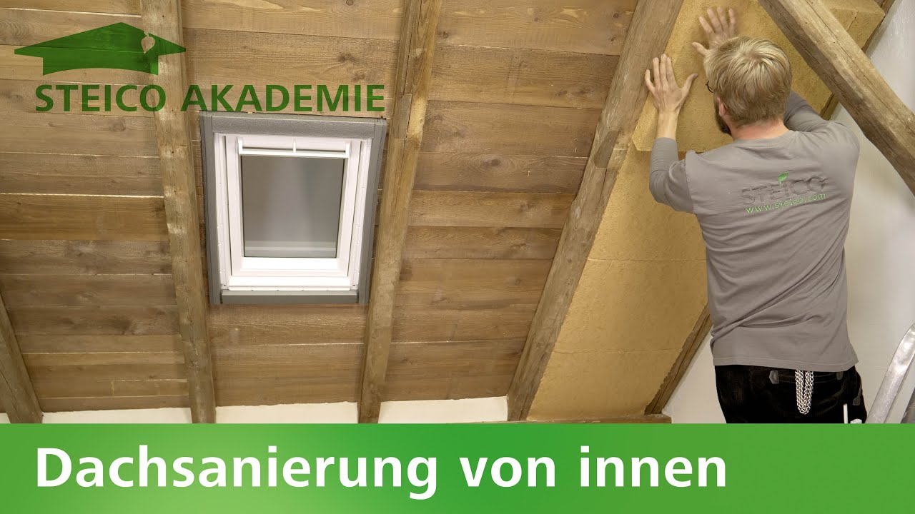 Dämmung - Steico Dachsanierung